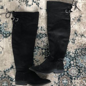 Express over the knee boots!
